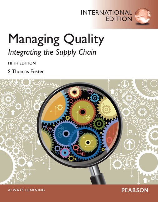 quality management issues of shipping and Quality control in manufacturing in manufacturing, quality control is a process that ensures customers receive products free from defects and meet their needs.